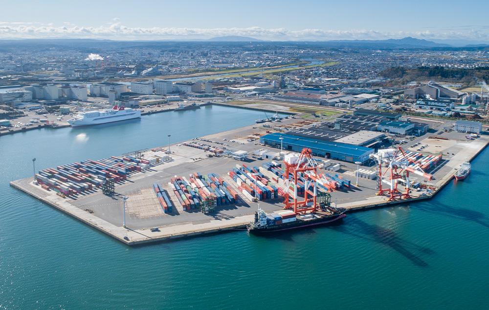 北東北の国際ゲートウェイ湾港
